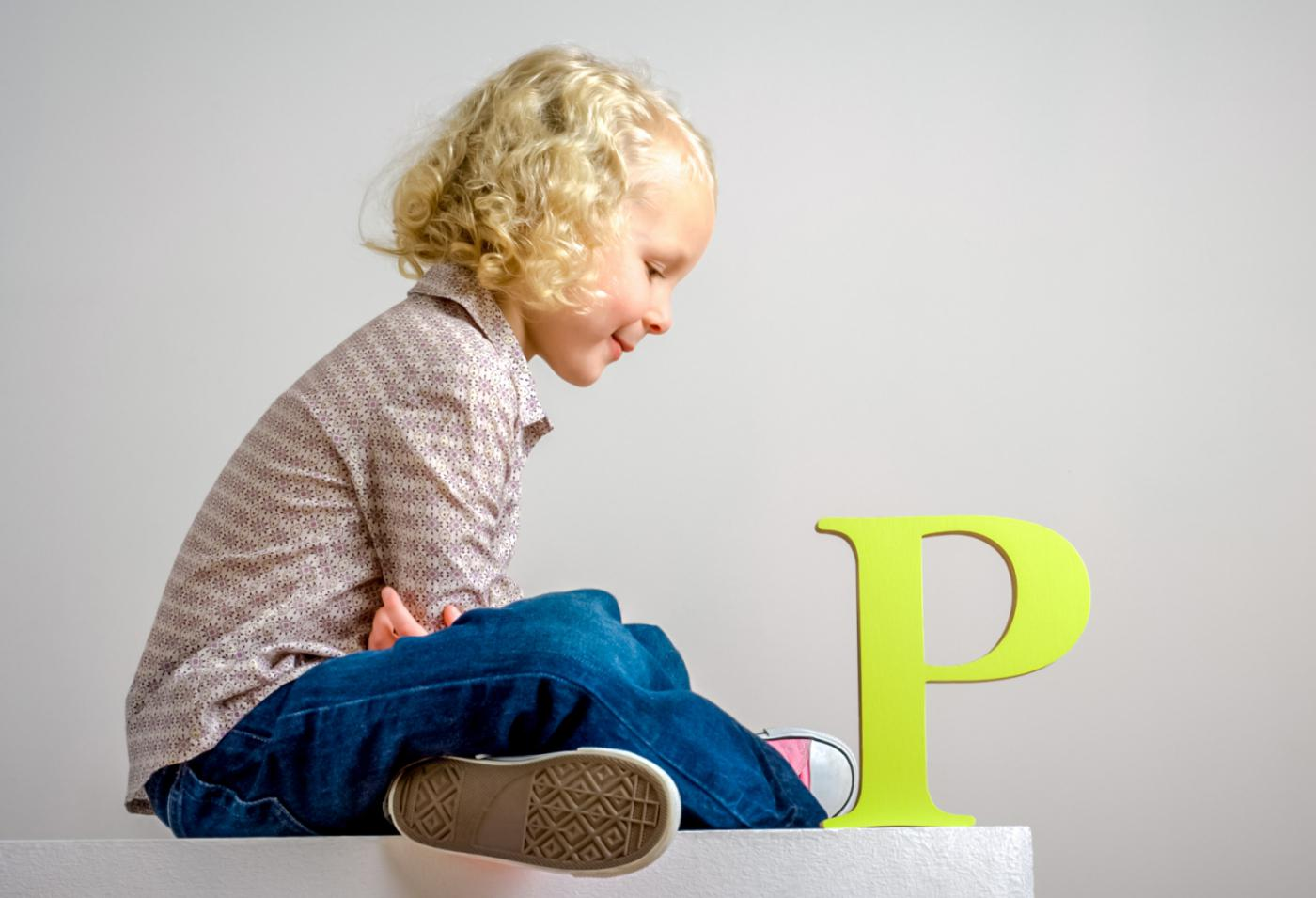 Как научить ребенка говорить букву