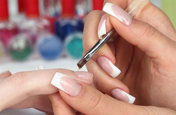 Как нарастить ногти в домашних условиях с помощью геля и ...