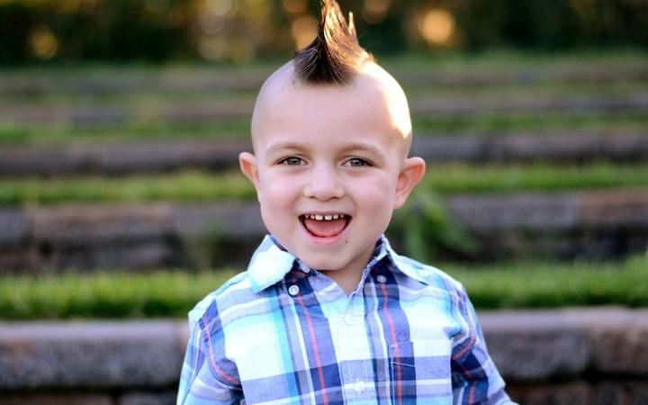 мальчик с ирокезом