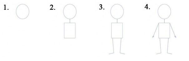 человек 1