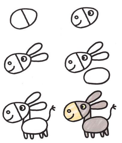 Пошаговая как рисовать животных