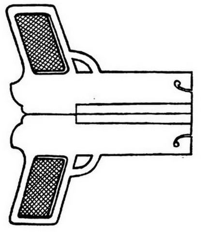 бумажный пистолет, который стреляет_1