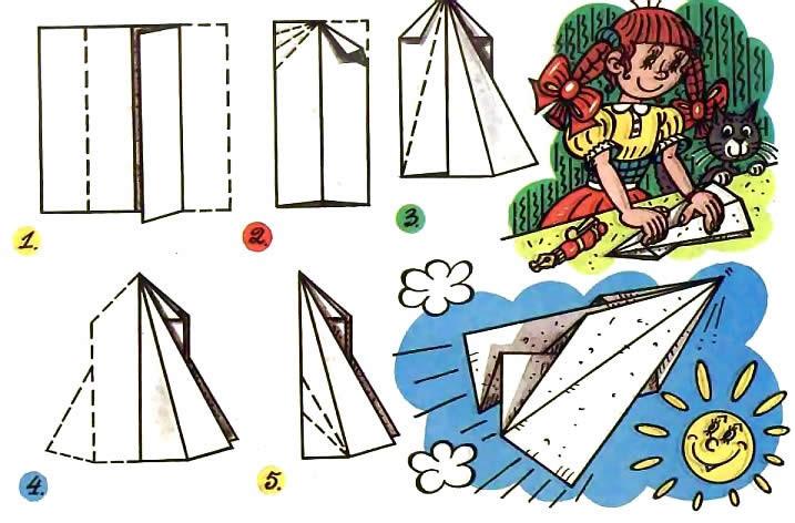 Как сделать из бумаги истребитель Rafale