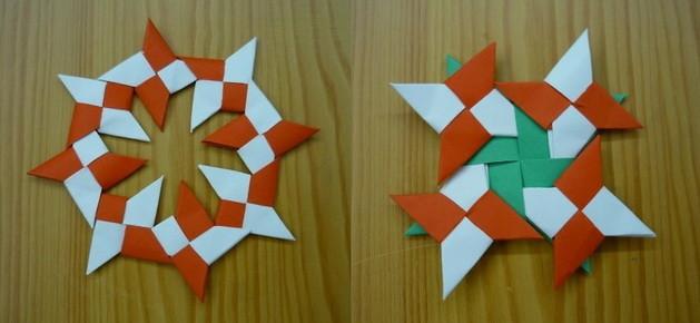 Как сделать оригами сюрикен