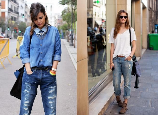 как сделать порванные джинсы