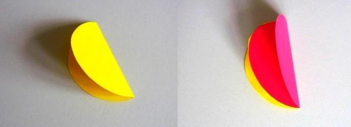 Как сделать шар из цветной бумаги 2