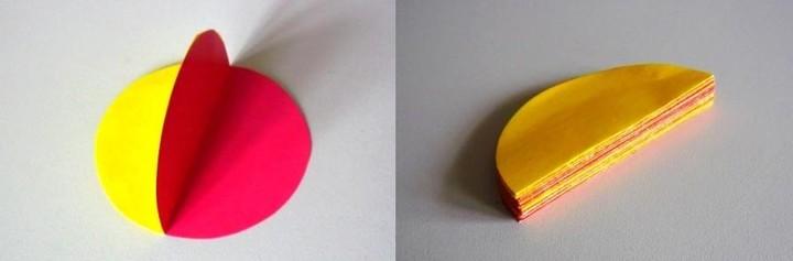 Как сделать шар из цветной бумаги 3