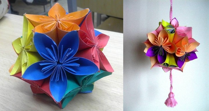 Декоративный шар схемы