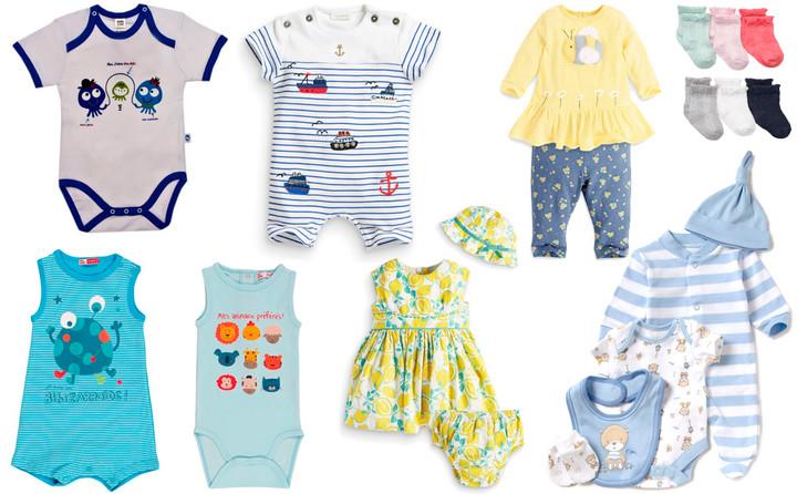 комплект одежды для новрожденных