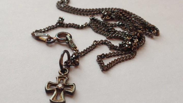 Чернеет серебро молитва
