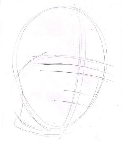 рисуем ребенка карандашом в анфас_1