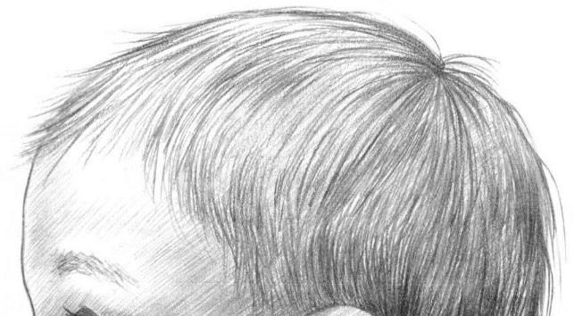 рисуем ребенка карандашом в профиль_10