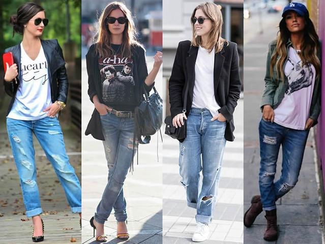 с чем носить рваные джинсы_2