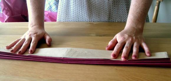 Как сделать шар из гофрированной бумаги 4