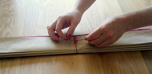 Как сделать шар из гофрированной бумаги 5