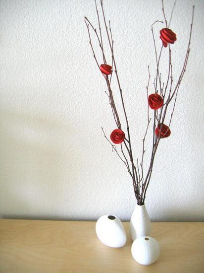 сделать бумажную розу