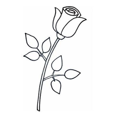пошаговая инструкция как нарисовать розу