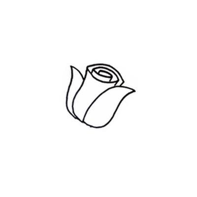правильно рисовать розу
