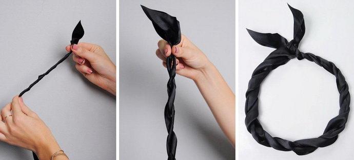 Повязки для волос своими руками для греческой прически своими руками