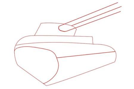 Как нарисовать танк Тигр 1