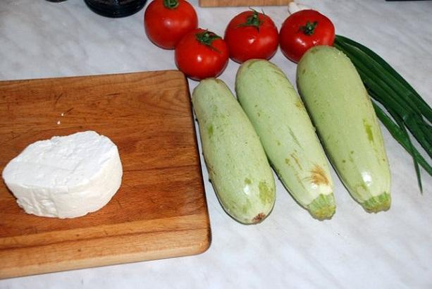 Как подготовить кабачки для запекания