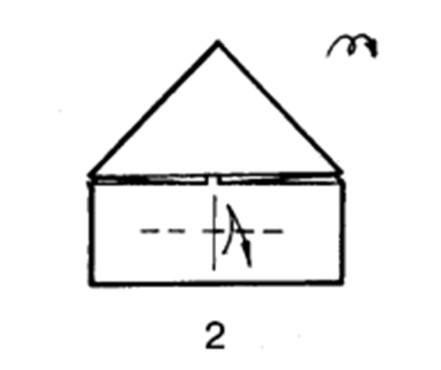 Как сделать бомбовоз из бумаги - шаг 2