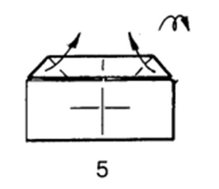 Как сделать бомбовоз из бумаги - шаг 4