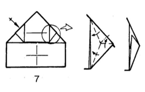 Как сделать бомбовоз из бумаги - шаг 6