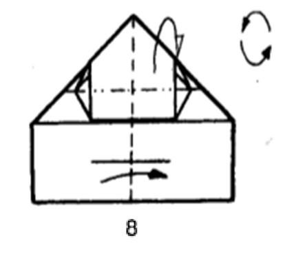 Как сделать бомбовоз из бумаги - шаг 7
