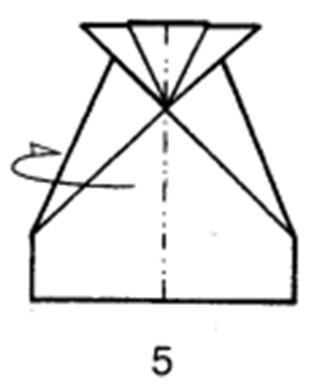 Как сделать планирующий истребитель из бумаги - шаг 5