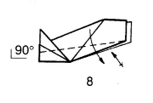 Как сделать планирующий истребитель из бумаги - шаг 8