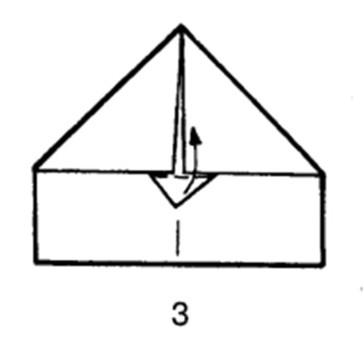 Как сделать самолет-дальнобойщик из бумаги - шаг 3