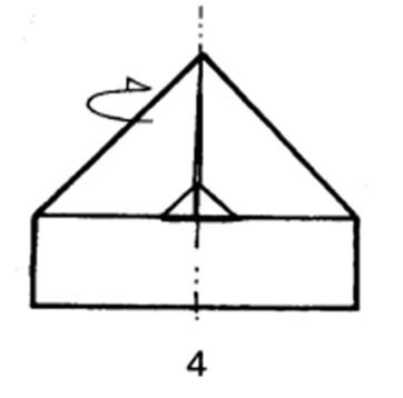Как сделать самолет-дальнобойщик из бумаги - шаг 4