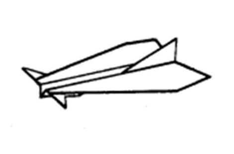 Планирующий истребитель из бумаги