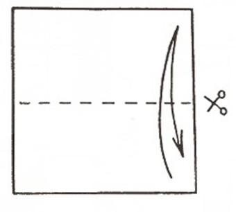 Сделать четырехконечный сюрикен шаг 1
