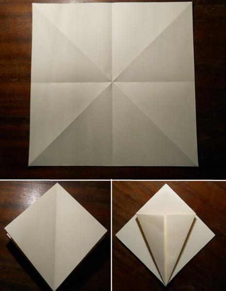как сделать меч оригами1