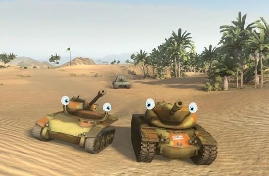 изображаем одушевленный танк