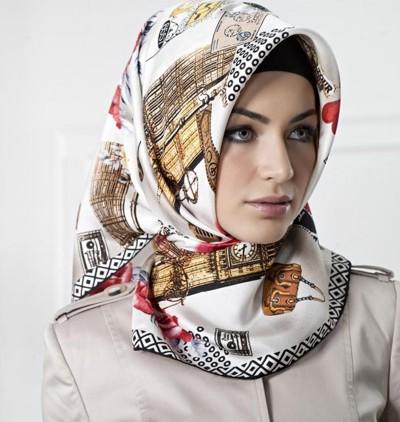 как повязать платок по-мусульмански
