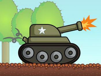 рисуем танк для ребенка